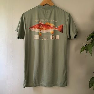 Southern marsh casual fishing tee shirt